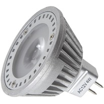 žiarovka MR16 power LED, 4W